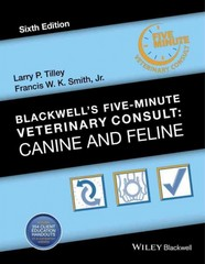 Blackwell's Five-Minute Veterinary Consult 6th Edition 9781118881576 1118881575