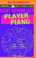 Player Piano 1st Edition 9781501277252 1501277251