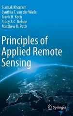 Principles of Applied Remote Sensing 1st Edition 9783319225609 331922560X
