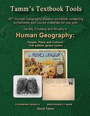 AP* Human Geography: People, Place and Culture 11th Edition+ Student Workbook 11th Edition 9781514649640 1514649640
