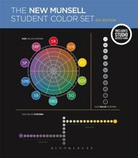 The New Munsell Student Color Set 4th Edition 9781501312229 1501312227