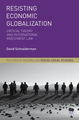 Resisting Economic Globalization 1st Edition 9781137535948 1137535946