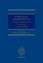 Employee Competition 3rd Edition 9780199685752 0199685754