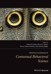 The Wiley Handbook of Contextual Behavioral Science 1st Edition 9781118489567 111848956X