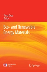 Eco- and Renewable Energy Materials 1st Edition 9783642334979 3642334970