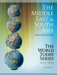 Middle East and South Asia 2015-20016 49th Edition 9781475818789 1475818785