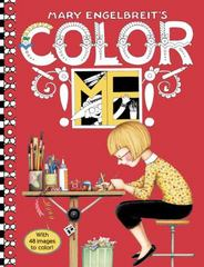 Mary Engelbreit's Color ME Coloring Book 1st Edition 9780062445612 0062445618