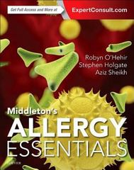 Middleton's Allergy Essentials 1st Edition 9780323375795 0323375790