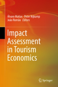 Impact Assessment in Tourism Economics 1st Edition 9783319149202 3319149202