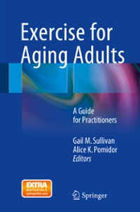 Exercise for Aging Adults 1st Edition 9783319160955 3319160958