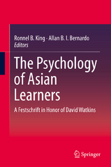 The Psychology of Asian Learners 1st Edition 9789812875761 981287576X