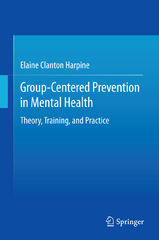 Group-Centered Prevention in Mental Health 1st Edition 9783319191027 3319191020