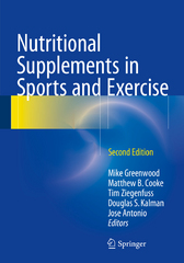 Nutritional Supplements in Sports and Exercise 2nd Edition 9783319182308 3319182307