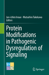 Protein Modifications in Pathogenic Dysregulation of Signaling 1st Edition 9784431555612 4431555617
