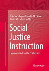 Social Justice Instruction 1st Edition 9783319123493 3319123491