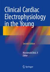 Clinical Cardiac Electrophysiology in the Young 2nd Edition 9781493927395 1493927396