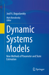 Dynamic Systems Models 1st Edition 9783319040363 3319040367