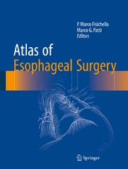 Atlas of Esophageal Surgery 1st Edition 9783319130156 3319130153