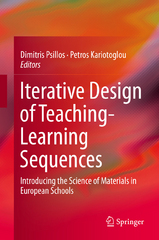 Iterative Design of Teaching-Learning Sequences 1st Edition 9789400778085 9400778082