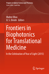 Frontiers in Biophotonics for Translational Medicine 1st Edition 9789812876270 9812876278