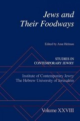 Jews and Their Foodways 1st Edition 9780190265434 0190265434