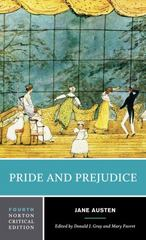 Pride and Prejudice 4th Edition 9780393264883 0393264882