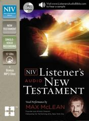 NIV Listerner's Audio New Testament 1st Edition 9780310444367 0310444365