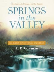 Springs in the Valley 1st Edition 9780310354482 031035448X