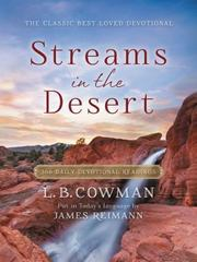 Streams in the Desert 1st Edition 9780310353683 0310353688