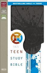 NKJV Teen Study Bible 1st Edition 9780310752790 0310752795