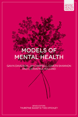 Models of Mental Health 1st Edition 9781137365903 1137365900