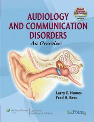 Audiology and Communication Disorders: An Overview 1st Edition 9780781775557 0781775558