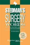 Stedman's Surgery Words 4th edition 9780781790086 0781790085