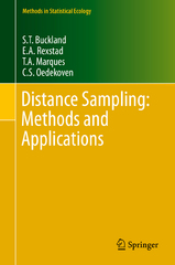 Distance Sampling: Methods and Applications 1st Edition 9783319192192 3319192191