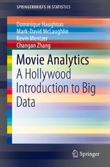 Movie Analytics 1st Edition 9783319094267 3319094262