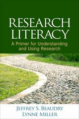 Research Literacy 1st Edition 9781462524624 1462524621