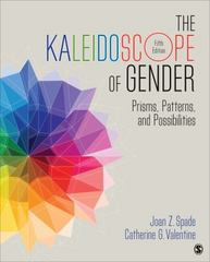 The Kaleidoscope of Gender 5th Edition 9781483379487 1483379485