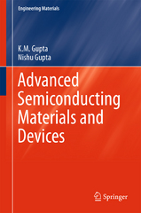 Advanced Semiconducting Materials and Devices 1st Edition 9783319197586 3319197584
