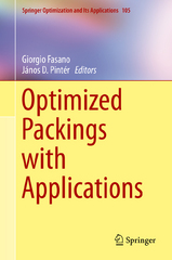 Optimized Packings with Applications 1st Edition 9783319188997 3319188992