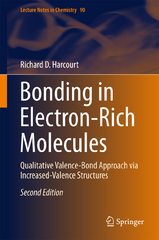 Bonding in Electron-Rich Molecules 2nd Edition 9783319166766 331916676X