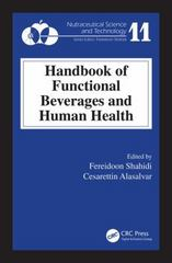Handbook of Functional Beverages and Human Health 1st Edition 9781466596412 1466596414