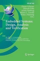 Embedded Systems: Design, Analysis and Verification 1st Edition 9783642430282 3642430287