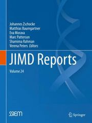 JIMD Reports, Volume 24 1st Edition 9783662482278 3662482274