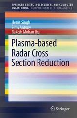 Plasma-based Radar Cross Section Reduction 1st Edition 9789812877604 9812877606