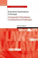 Economic Governance in Europe 1st Edition 9780198749134 0198749139