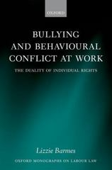 Bullying and Behavioural Conflict at Work 1st Edition 9780191058530 019105853X