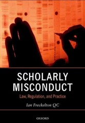 Scholarly Misconduct 1st Edition 9780198755401 0198755406