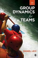 Group Dynamics for Teams 5th Edition 9781483378343 1483378349