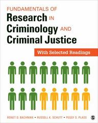 Fundamentals of Research in Criminology and Criminal Justice 1st Edition 9781506326689 1506326684