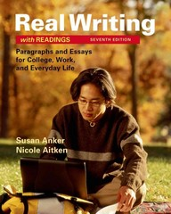 Real Writing with Readings 7th Edition 9781319003197 1319003192